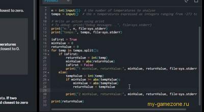 консоль кодов кодингейма
