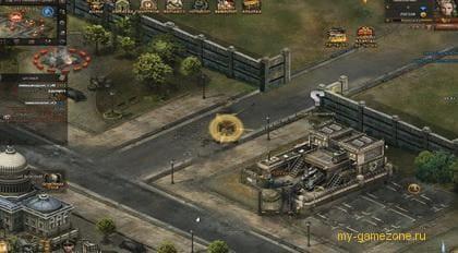 штаб битвы танков