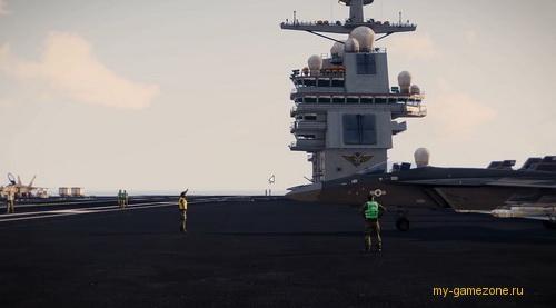 военный корабль arma 3