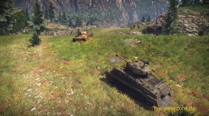 дуэль двух боевых машин
