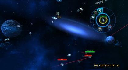 вылет с космической станции