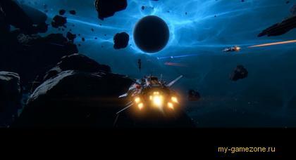 вылет кораблей Star Conflict