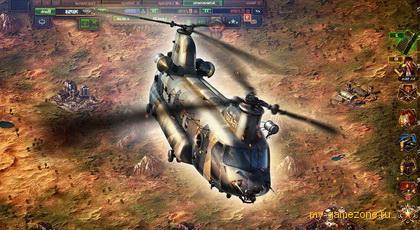 Вертолет из Конфликт Искусство войны