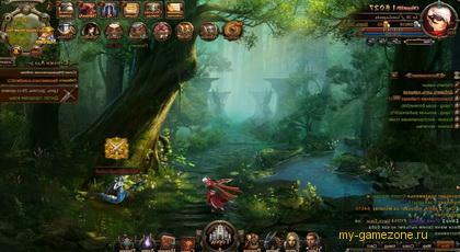 рыцарь в лесу