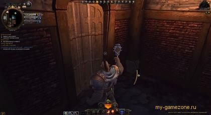 вход в замок из Невервинтер