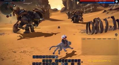тера - эпизод в пустыне