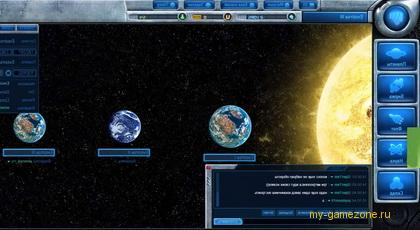 солнечная система космической игры