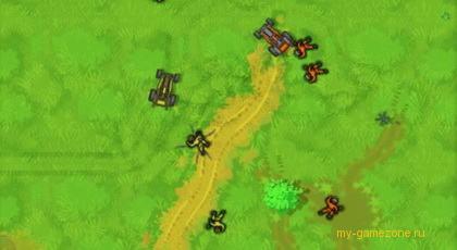 кадр с банановых войн
