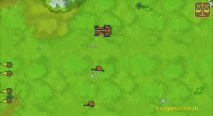 нападение на войска с аркаде