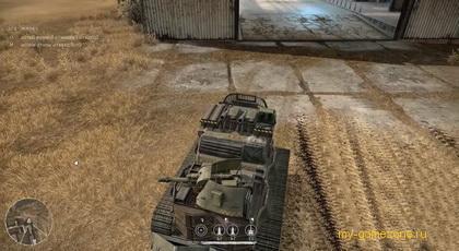 выезд бронемашины из гаража игры Crossout