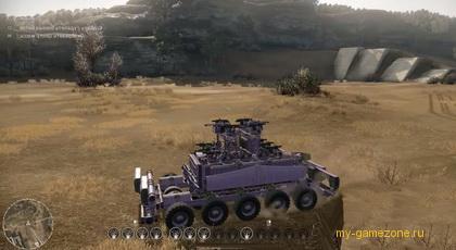 боевая машина из бесплатной игры Crossout