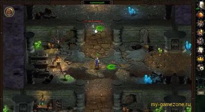эпизод персонажа в пещере