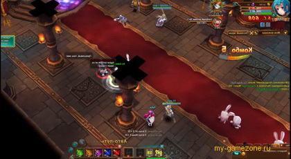 сцена сражения с игры