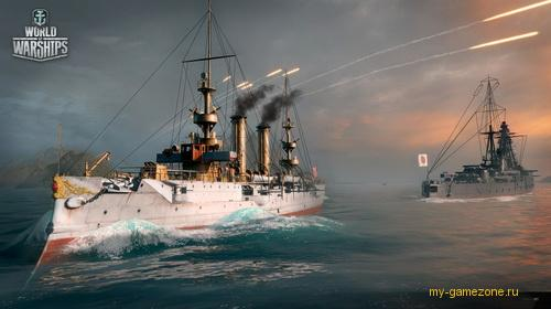 world of warships постер