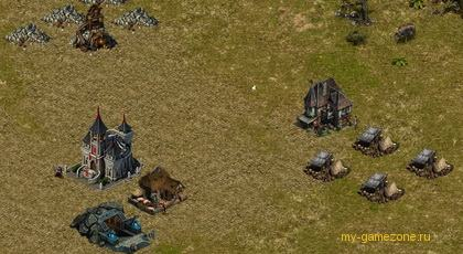 сооружение строений в игре