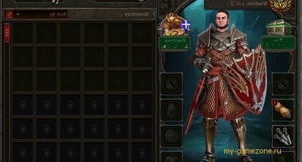 обзор игрового персонажа