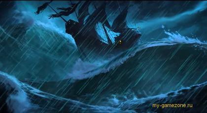 скриншот корабля из трейлера