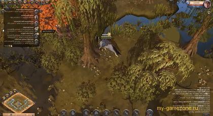 персонаж из albion в лесу