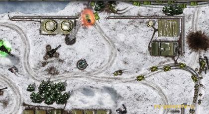 атака на базу в defense zone 3