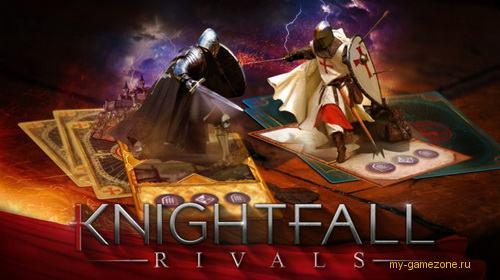 knightfall rivals постер