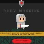 ruby warrior постер