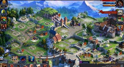 средневековый город из стратегии