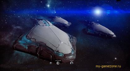 вылет кораблей с базы