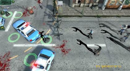 нападение мутантов на полицейских