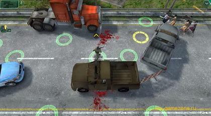 защита спецназа от зомби в Zombie Defense