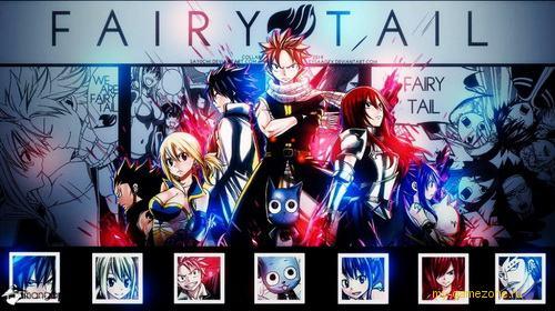 Fairy Tail постер