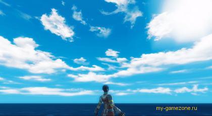 морской пейзаж из r2 online