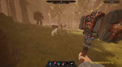 виртуальная охота на оленя