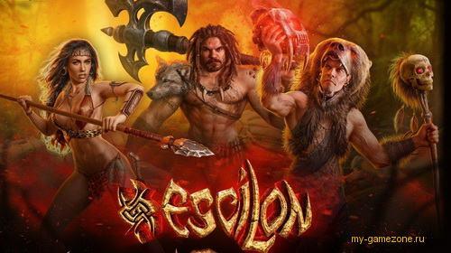 эсцилон - мир дикарей постер