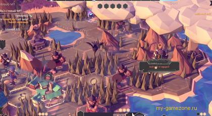 игровой мир из For The King