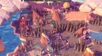 деревенька из геймплея