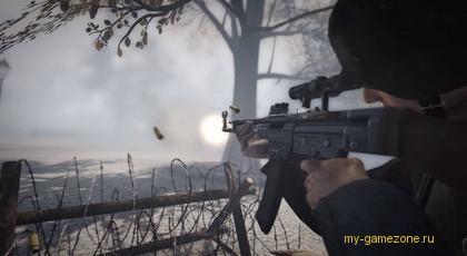 обстрел противника из засады