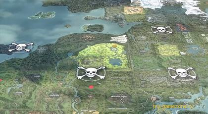 карта битвы за славу