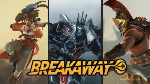 постер игры breakaway