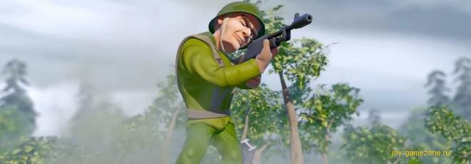 солдатики в жанре башенной защиты