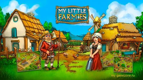 my little farmies game постер