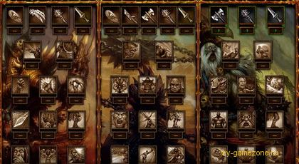 обзор игровых персонажей