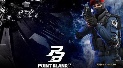 point blank постер