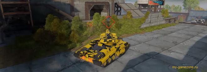 клиентская онлайн игра танки х