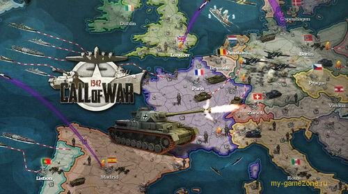 Call of War 1942 постер