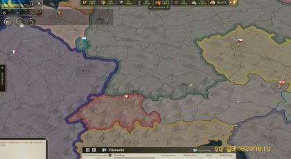 карта центральной Европы