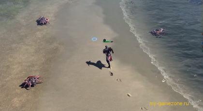 эпизод игры у берега