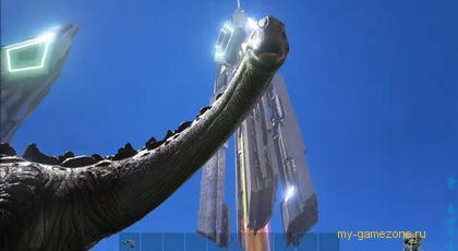 Динозавр из ark survival evolved