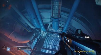 прыжок в космическом корабле
