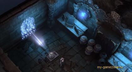 эпизод игры в подземелье