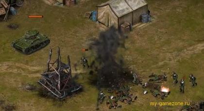 уничтожение техники в игре